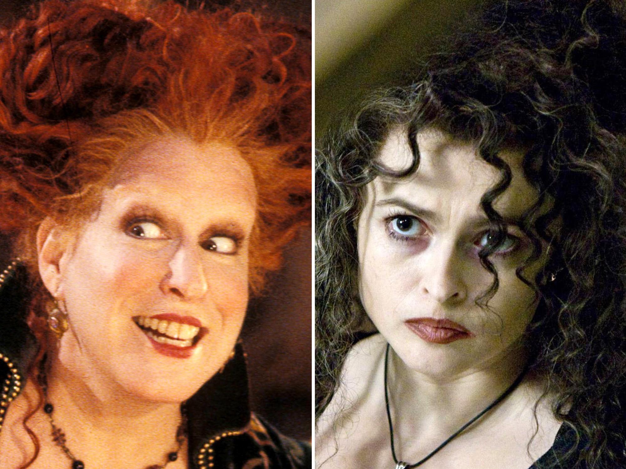 Vous pouvez également choisir un personnage tout en regardant vos films d'Halloween préférés.
