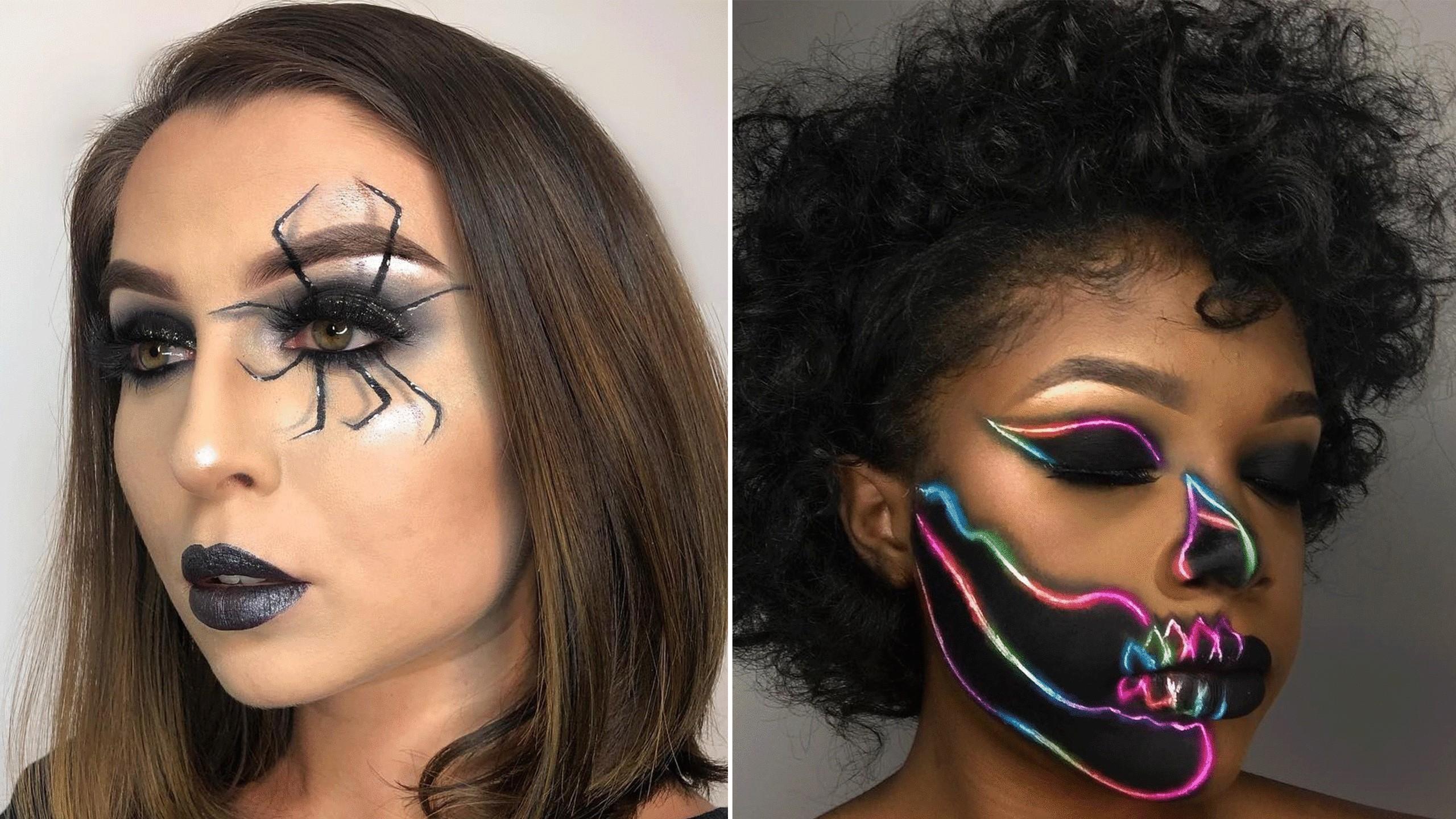 Apprenez les meilleures techniques pour votre maquillage Halloween.