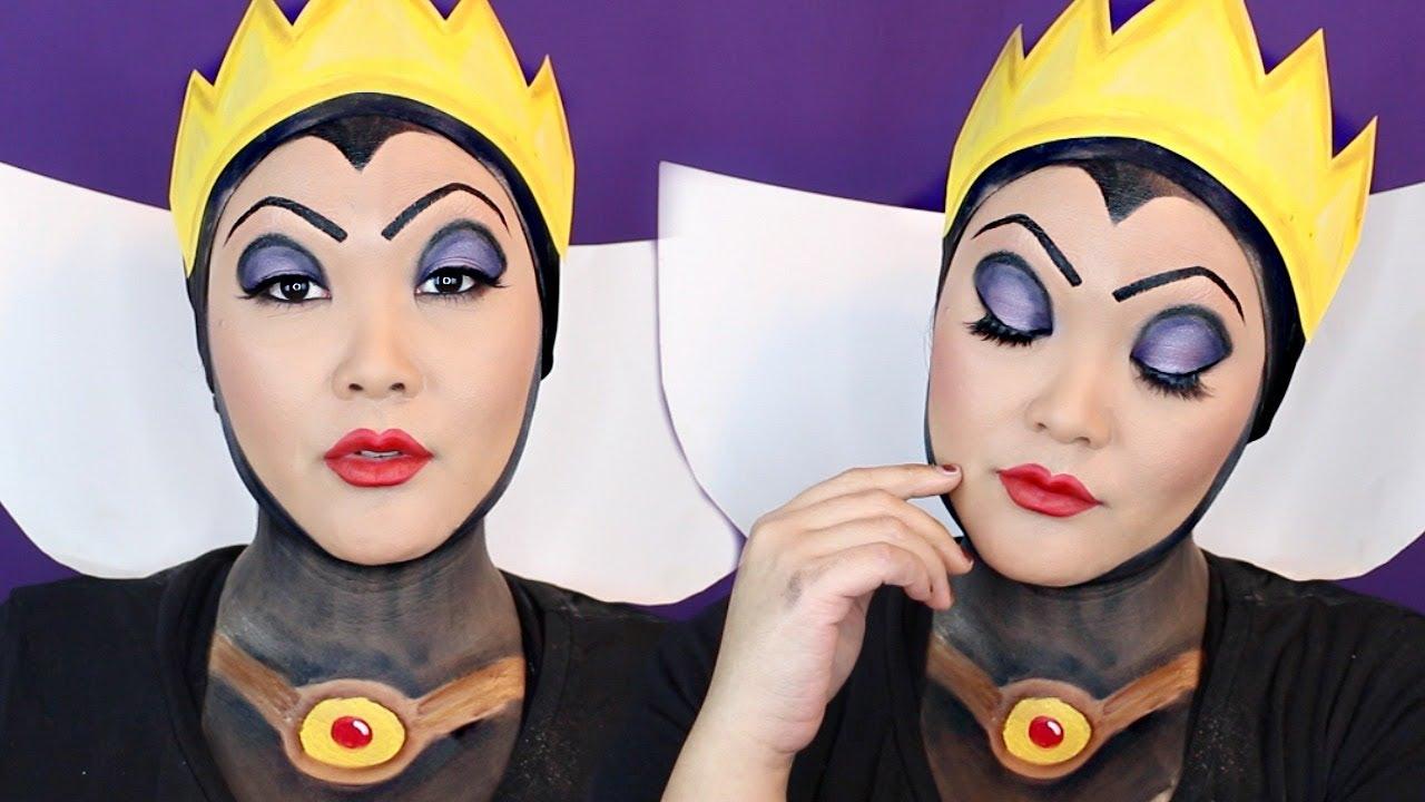Une autre option est de se maquiller comme la sorcière de Blanche-neige