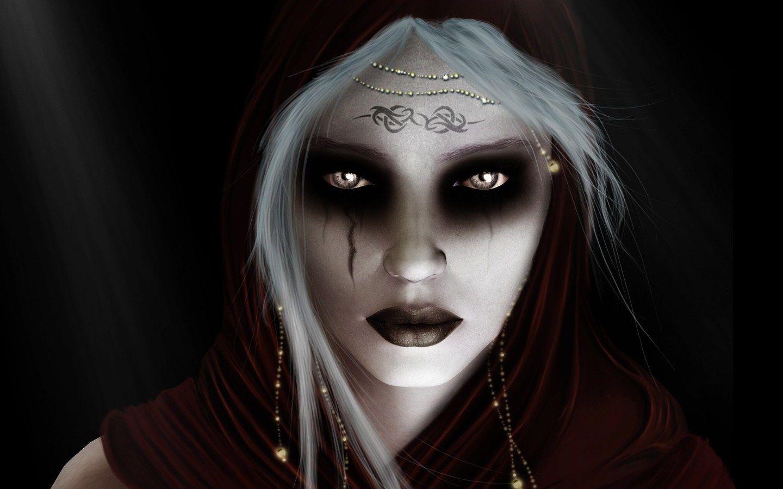 Si vous voulez être une très mauvaise sorcière, c'est votre maquillage