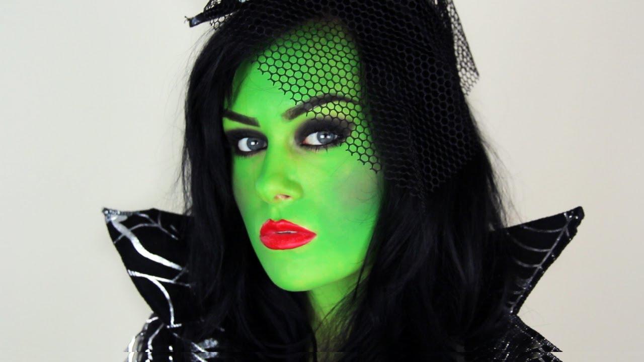 Une autre idée de maquillage Elphaba