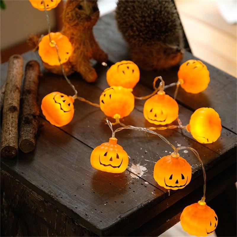 Un éclairage fantasmagorique - décoration pour l'Halloween