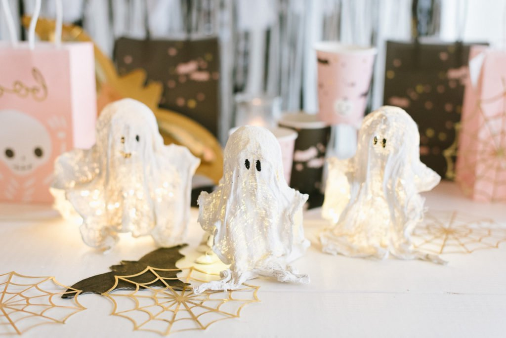 Fantôme de Halloween à fabriquer soi-même