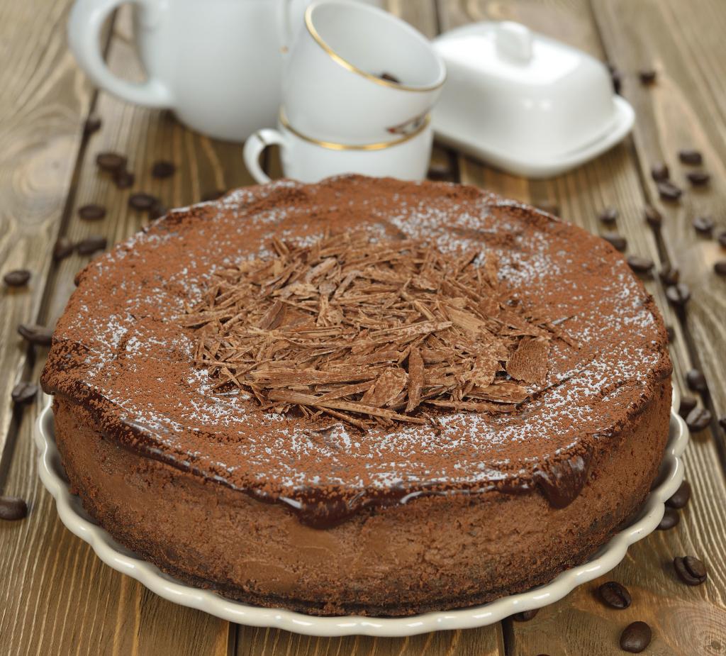 Recette de Cheesecake au chocolat Nutella - une recette super facile à faire et compatible avec votre Thermomix