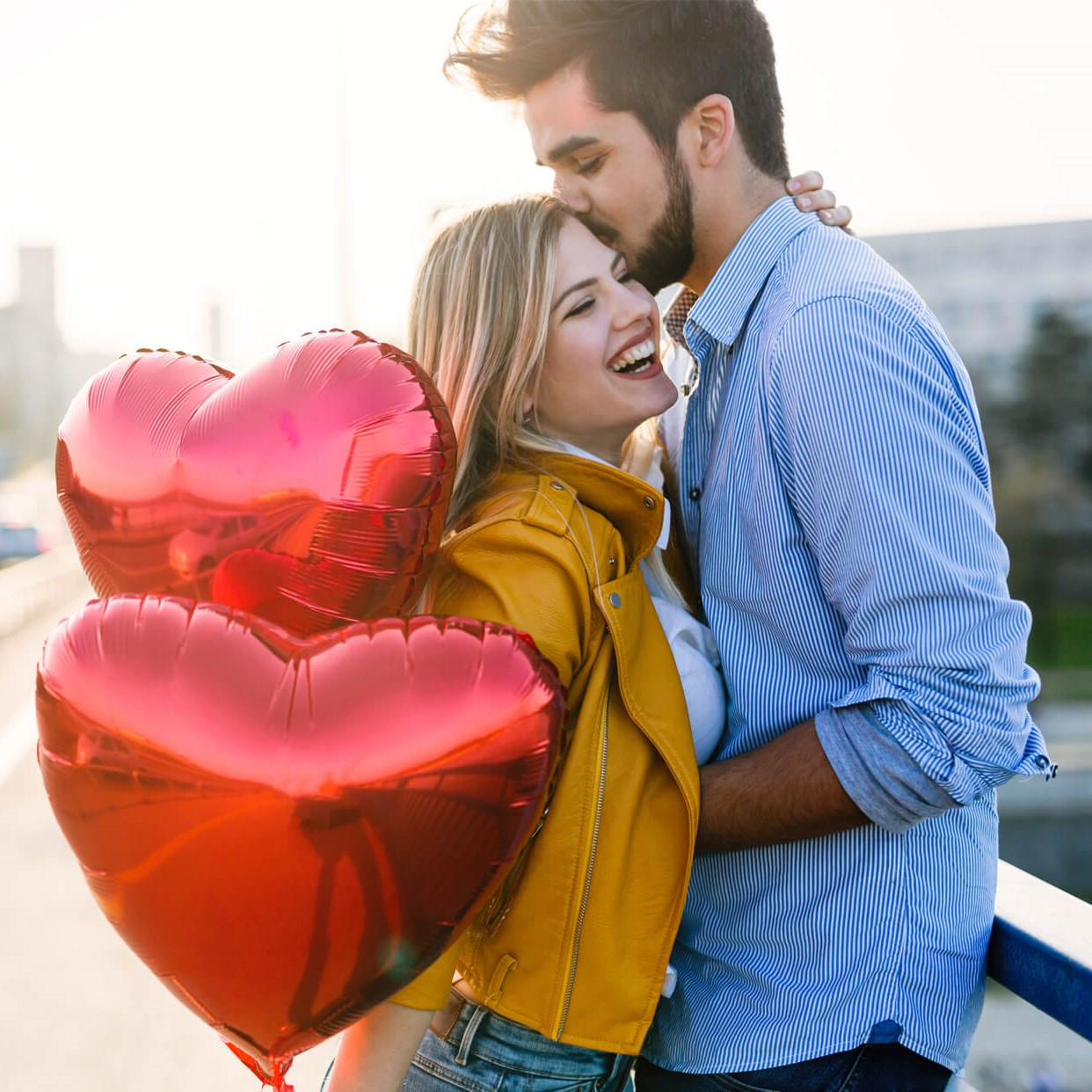 Réservez un photographe pour un shooting romantique.