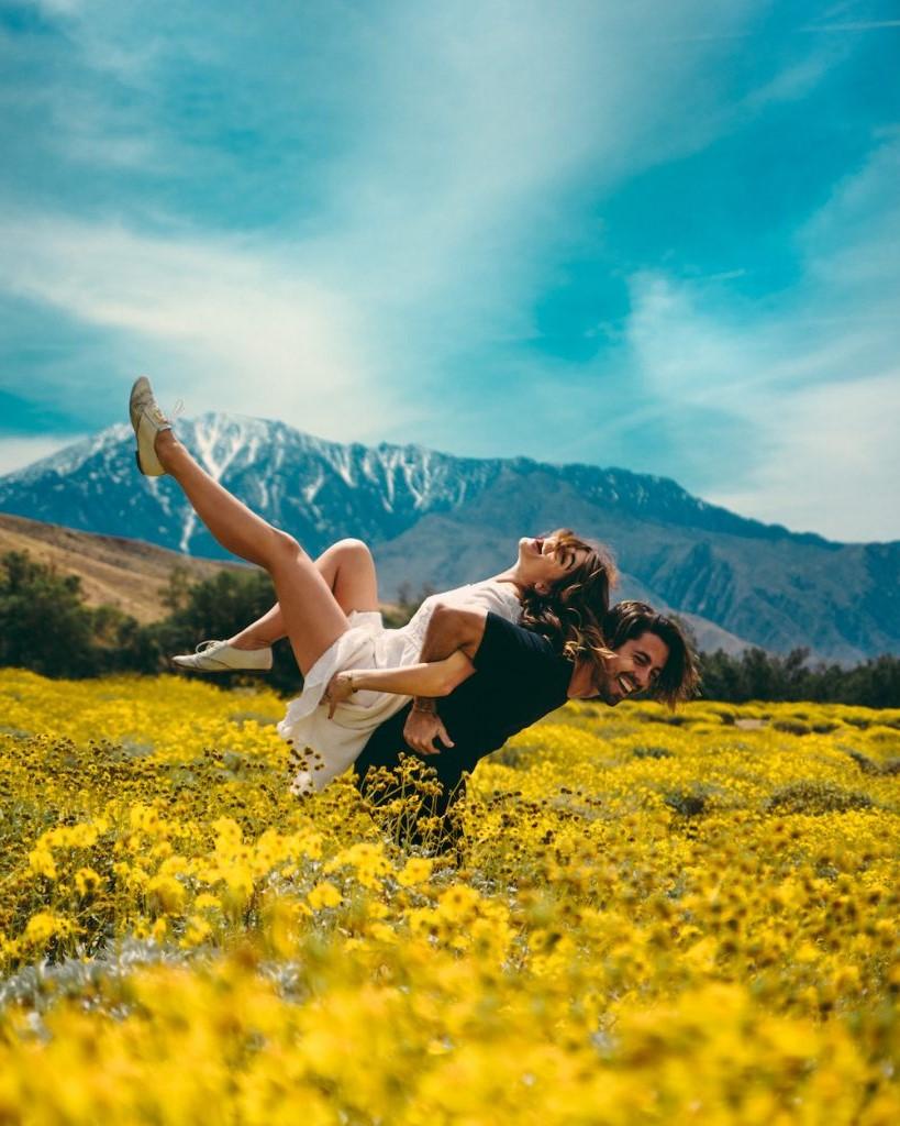 Passez du temps à profiter de la nature en compagnie de votre bien-aimé.