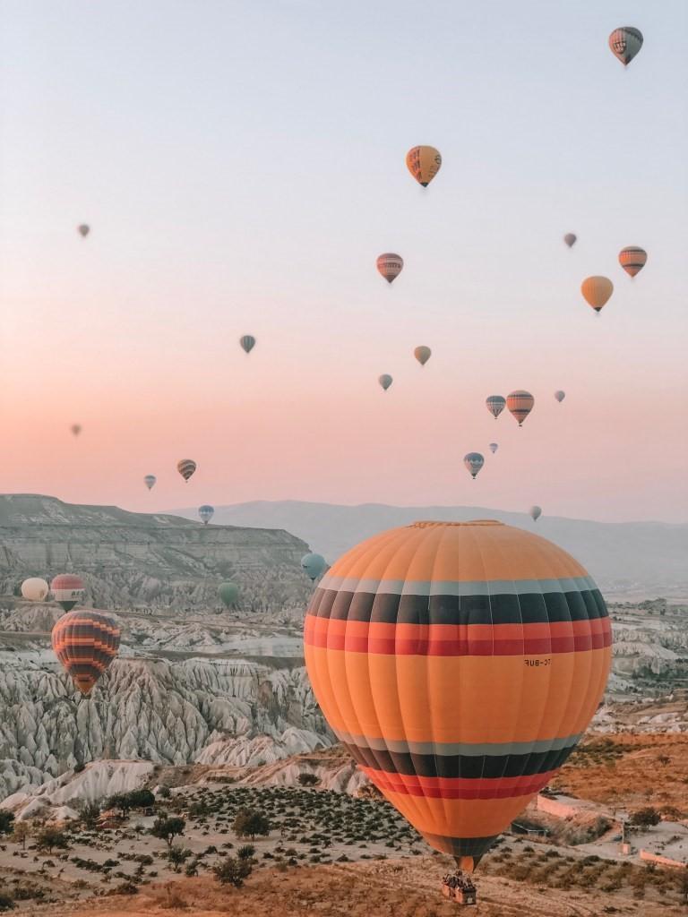 La Cappadoce en Turquie est le choix parfait!