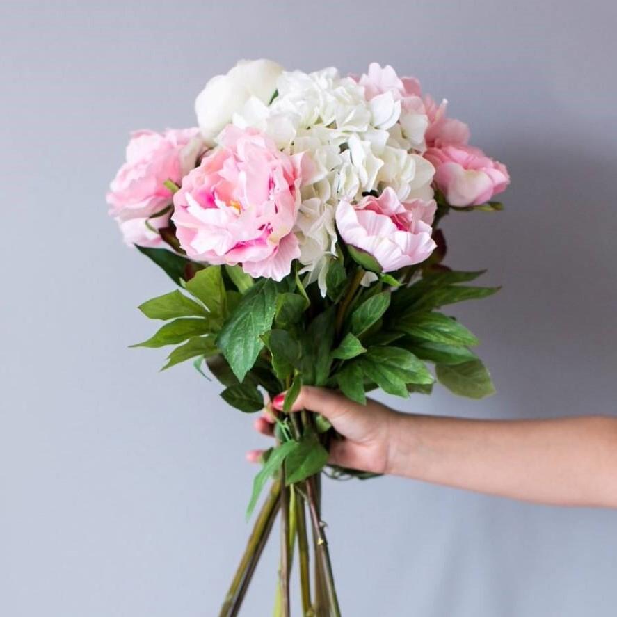 N'oubliez pas les fleurs!