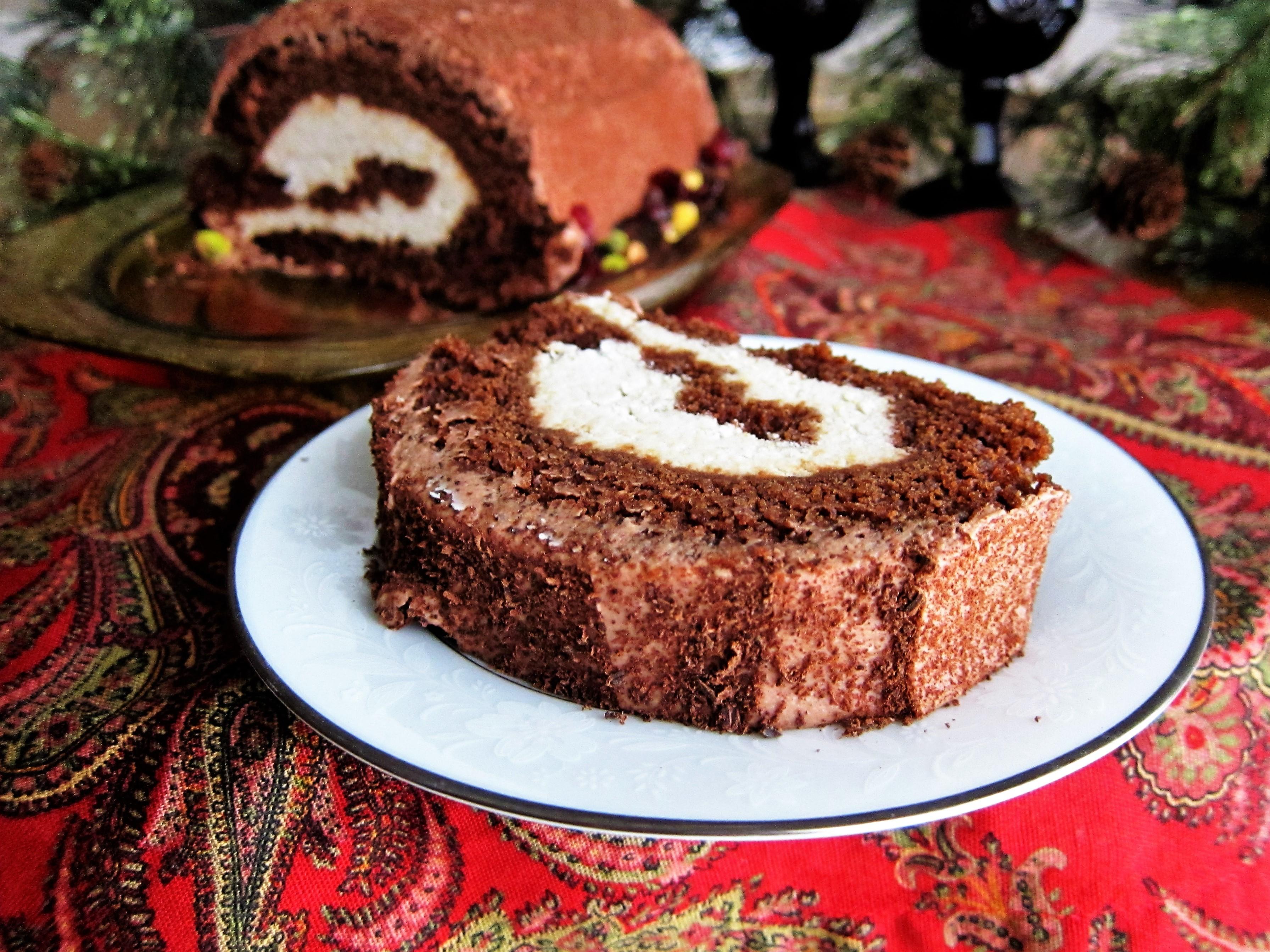 Le dessert bûche de Noël est maintenant célébré dans le monde entier.