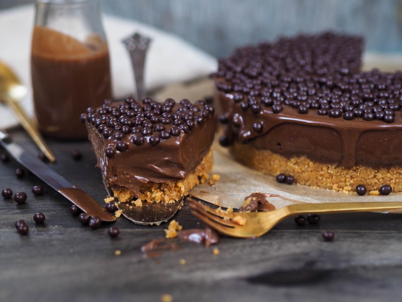 Cheesecake au chocolat Nutella