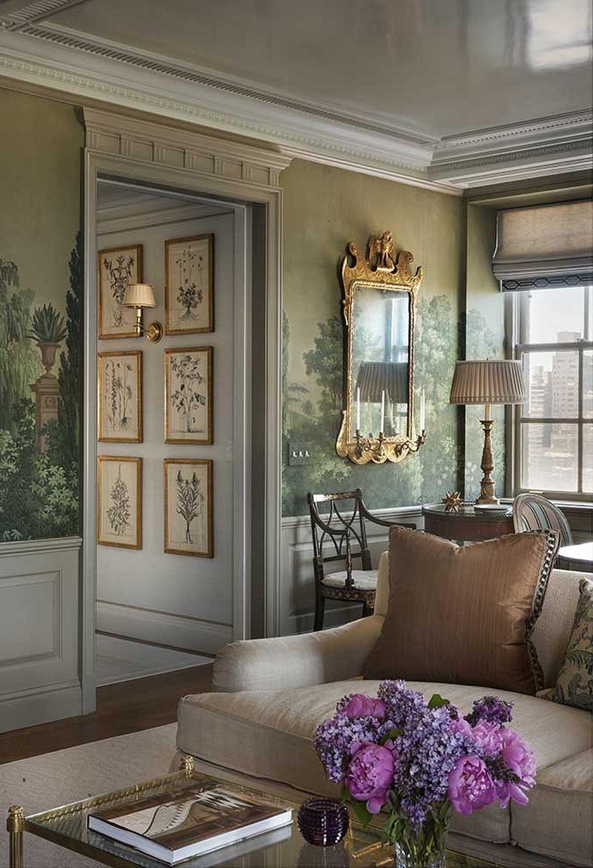 Décoration de style anglais dans votre maison.