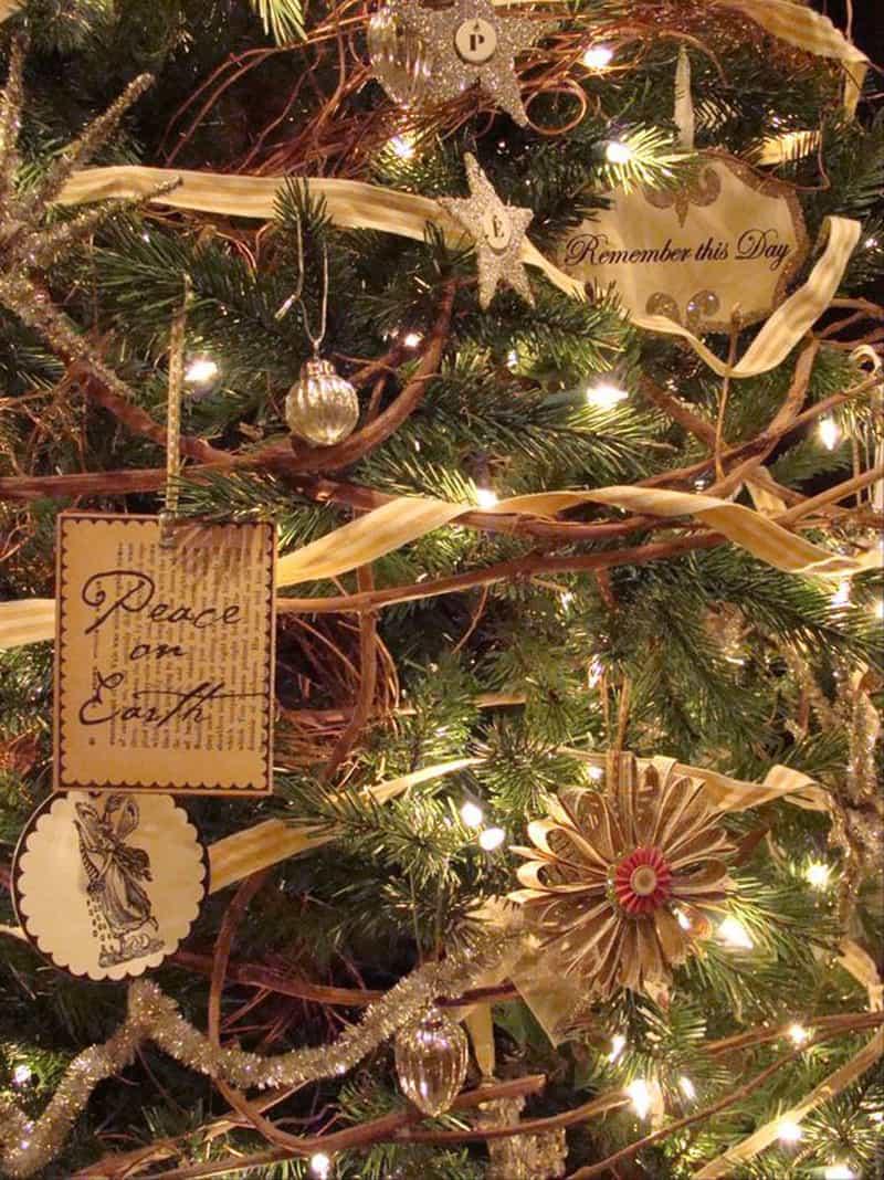 Idées créatives et faciles avec des décorations de Noël naturelles.