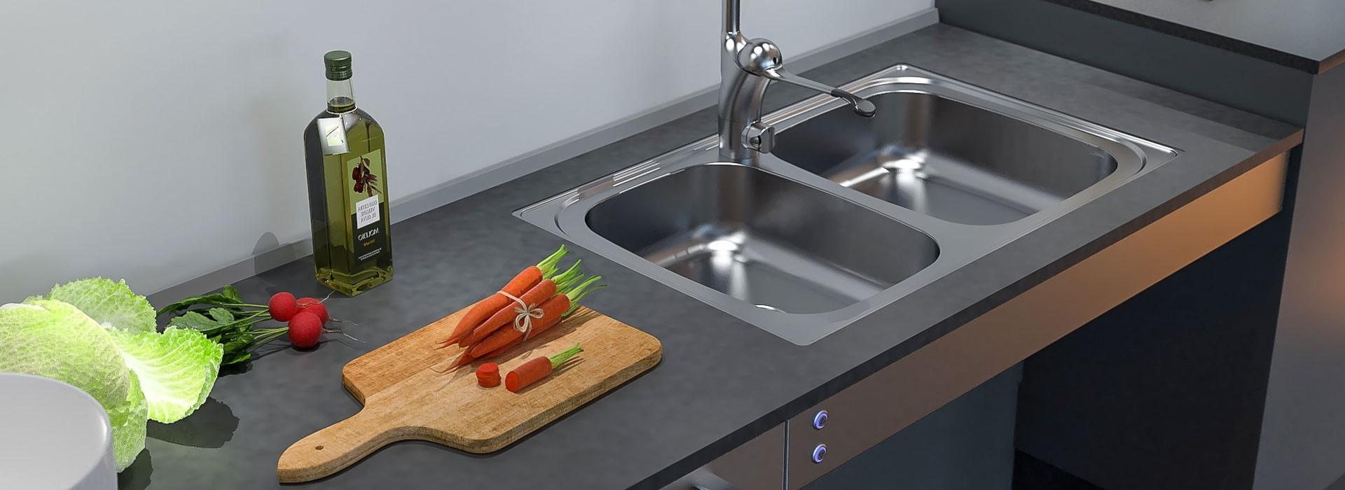 À l'instar d'autres normes d'installation courantes, ce ne sont pas les règles de construction qui fixent la hauteur des comptoirs de cuisine.
