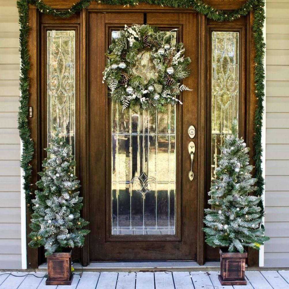 Idées de Noël pour l'extérieur de votre maison.