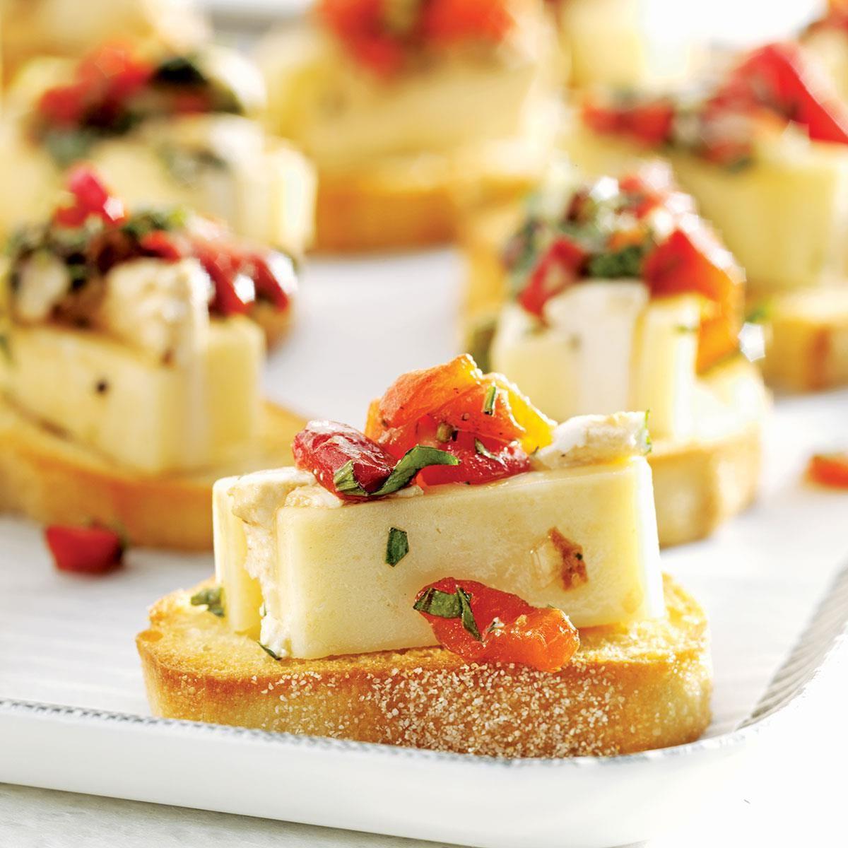 Craquelins au fromage mariné