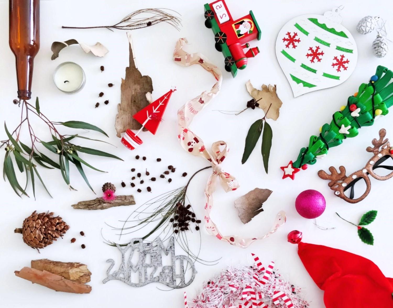 Noël zéro déchet - utilisez une décoration durable et recyclable.