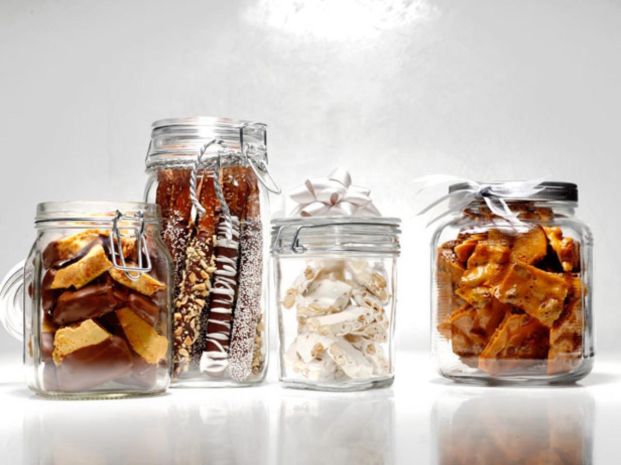 Noël zéro déchet: donnez à vos proches des bonbons et des biscuits faits maison.