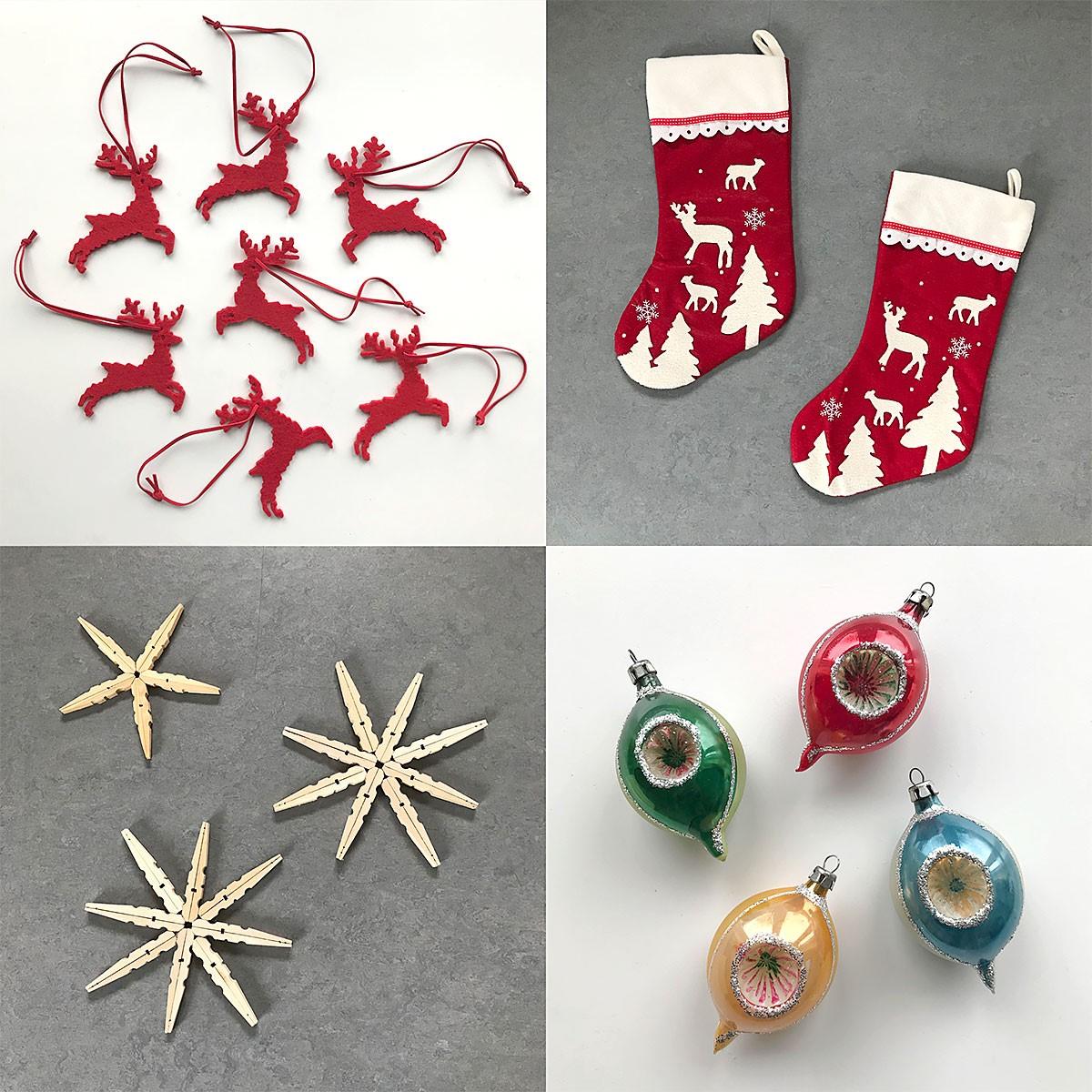 Noël zéro déchet: confectionnez vos propres décorations de Noël.