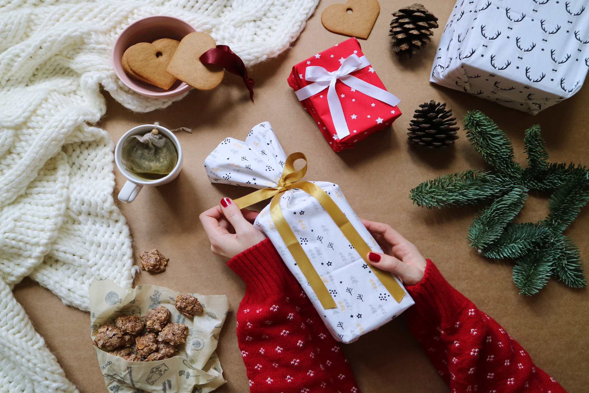 Noël zéro déchet: 125 000 tonnes d'emballages en plastique sont jetées.