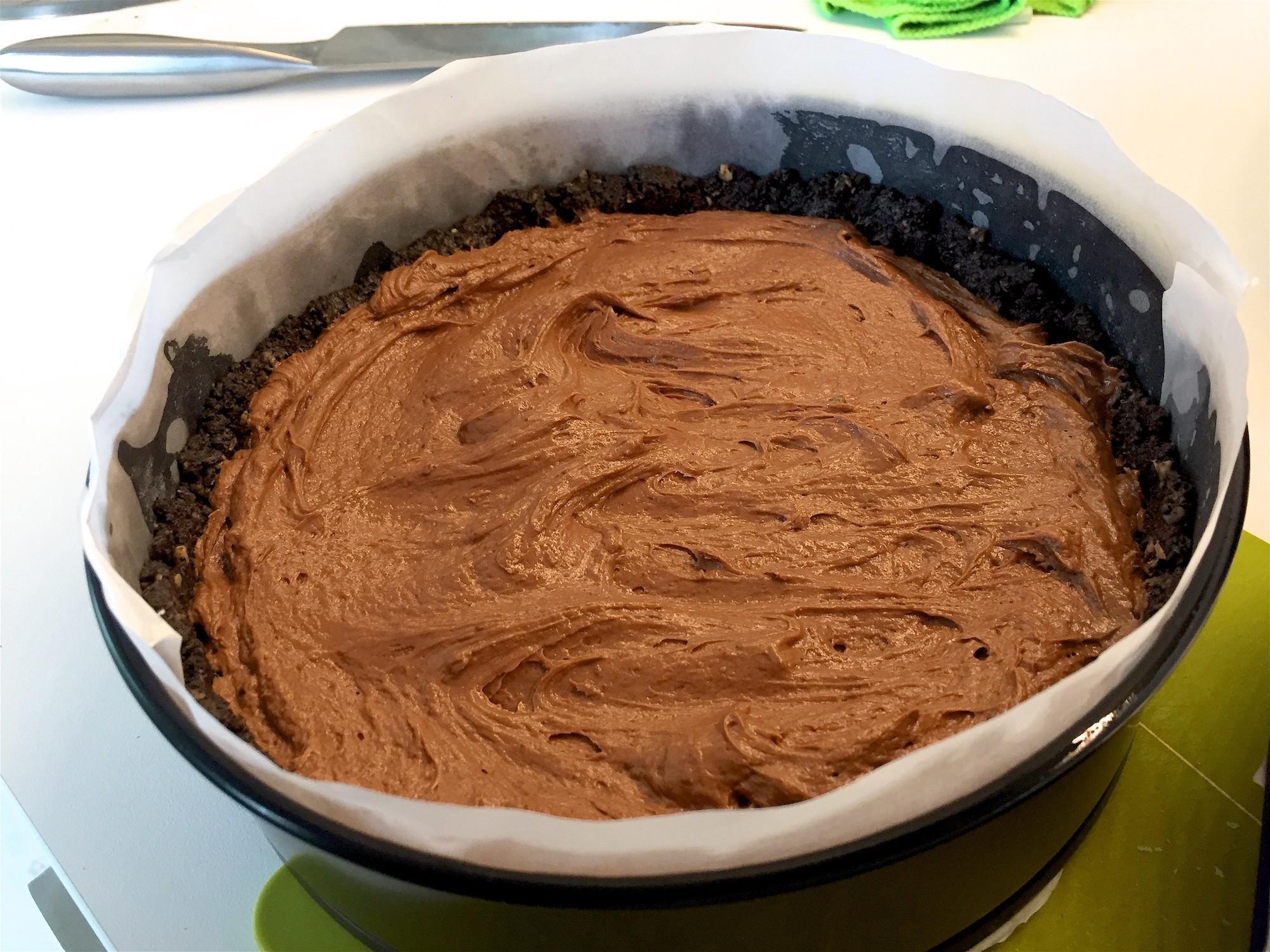Recette de Cheesecake à base de Nutella - recette sur Pinterest