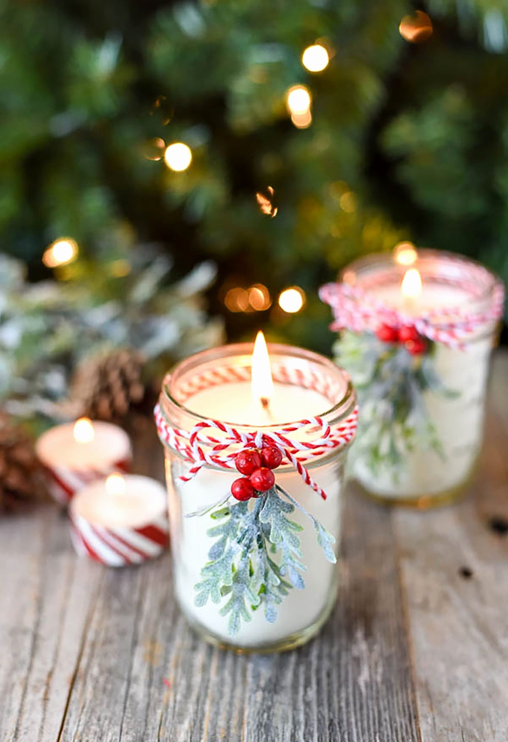 Bougies De Noel.