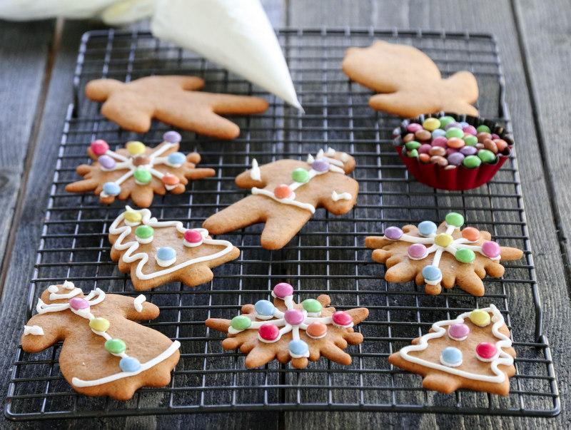 Recettes de Noël - Biscuits au beurre de cacahuètes