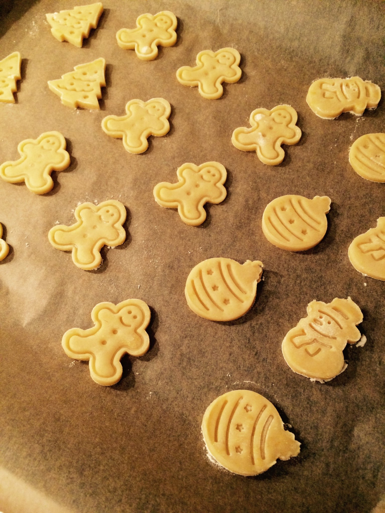 Biscuits au beurre Noel