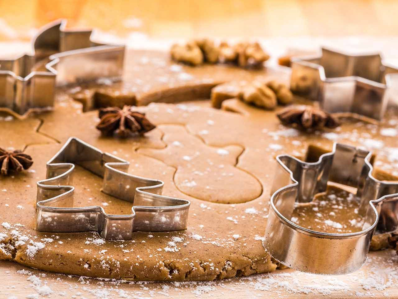 Biscuits au beurre de cacahuètes recette de Noel