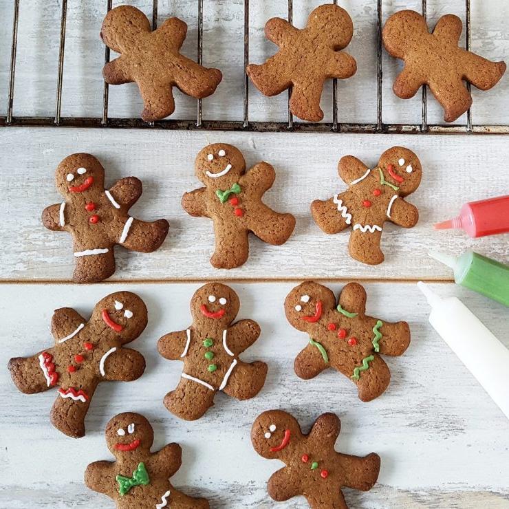 Biscuits bonshommes - une recette gourmande et hyper facile à préparer avec les enfants
