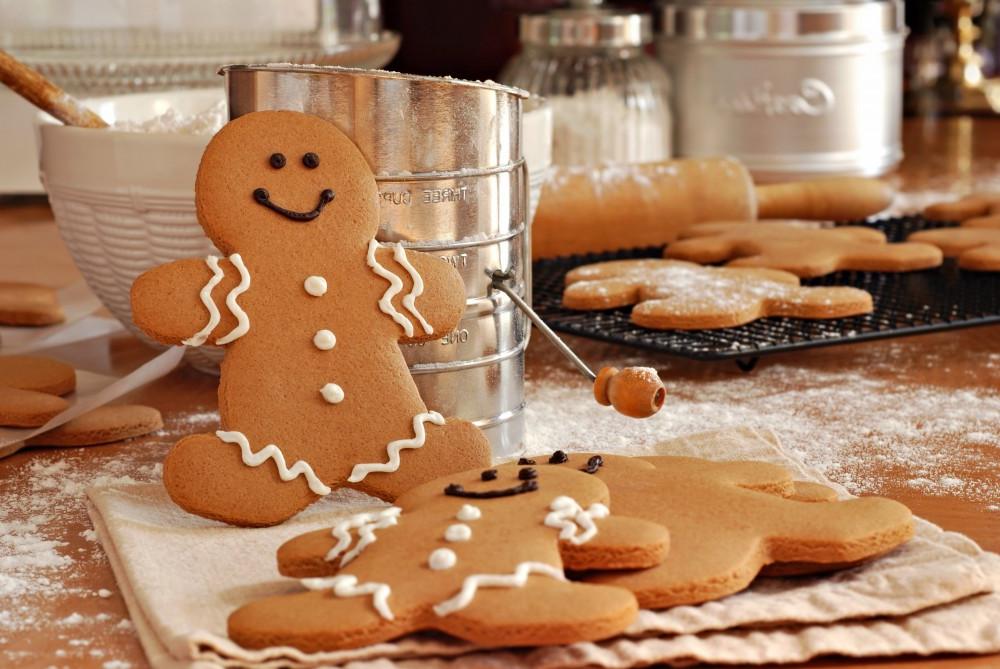 Biscuits bonshommes, idéals pour cuisiner tous ensemble