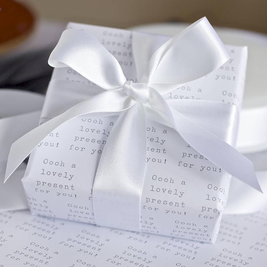 Emballage cadeau créatif et élégant.