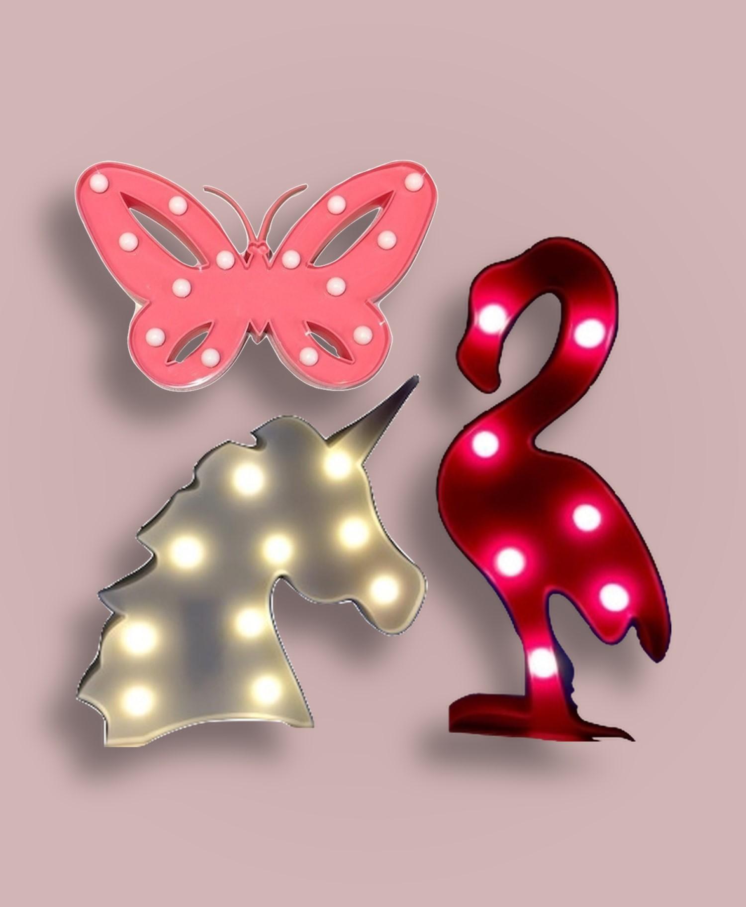 Cadeau de Noël pour fille: des décorations cool avec des ampoules brillantes.