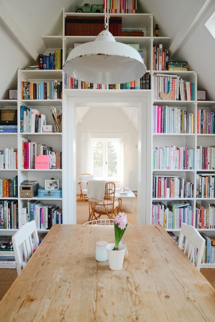 Si le grenier de votre maison est suffisamment grand, transformez-le en studio.