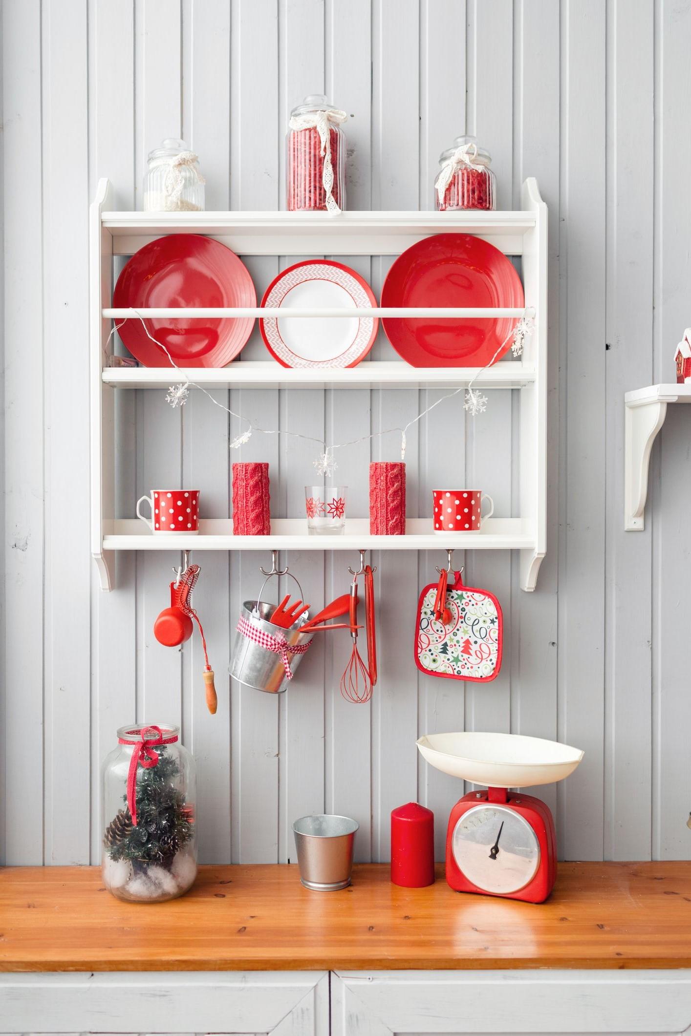 N'oubliez pas de décorer votre cuisine cette année.