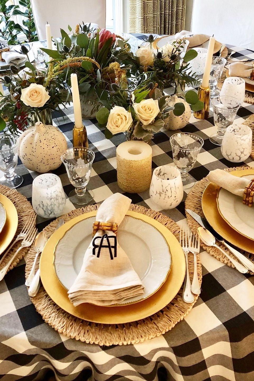 Impressionnez vos invités avec la décoration sur votre table.