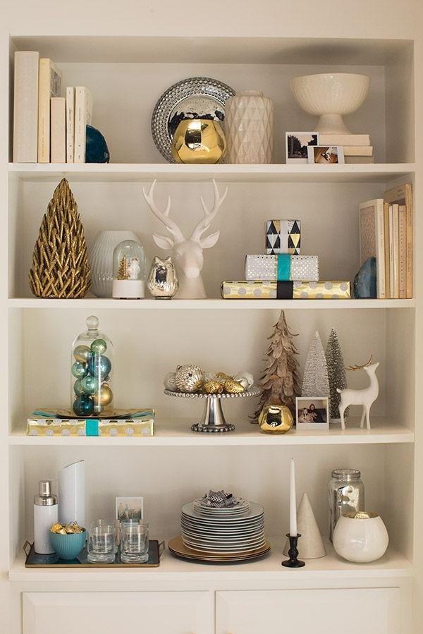 Décor de Noël: faites vivre votre étagères.