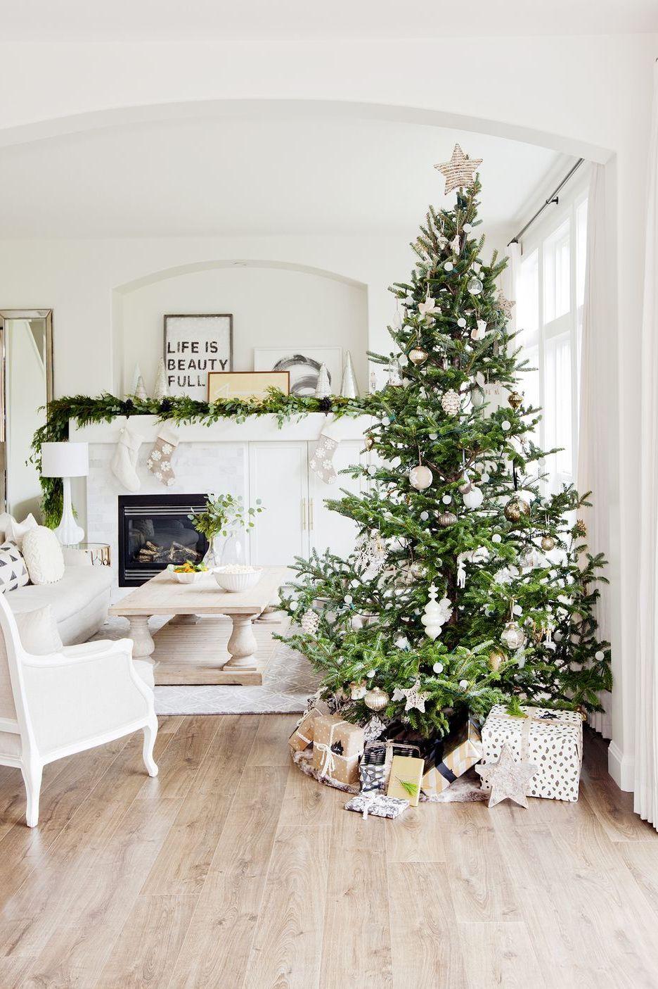 Sapin de Noël minimaliste.