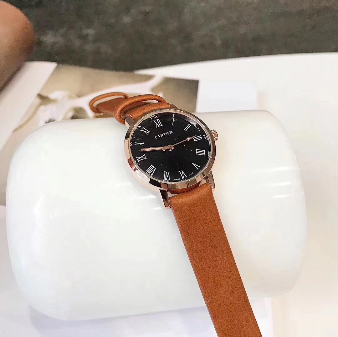 Marques de montres de luxe: Cartier.