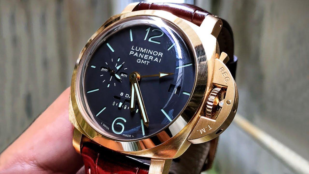 Marques de montres de luxe: Panerai.
