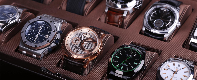 Marques de montres de luxe: Parmigiani Fleurier et Rolex.