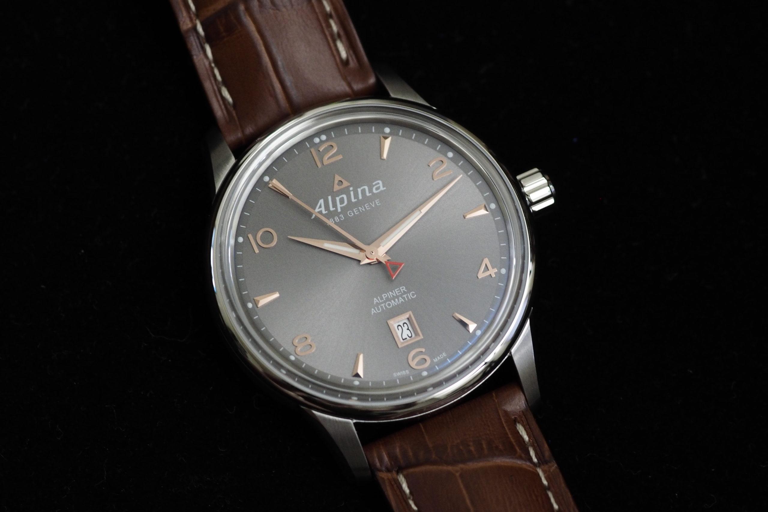 Montres de luxe pour homme: Alpina.