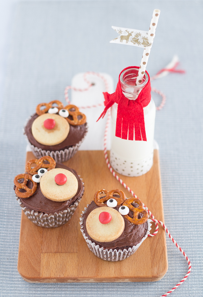 Muffins Rudolf – une recette gourmande que vos enfant vont adorer