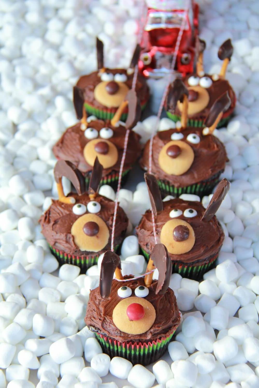 Muffins Rudolf, idéals pour cuisiner tous ensemble