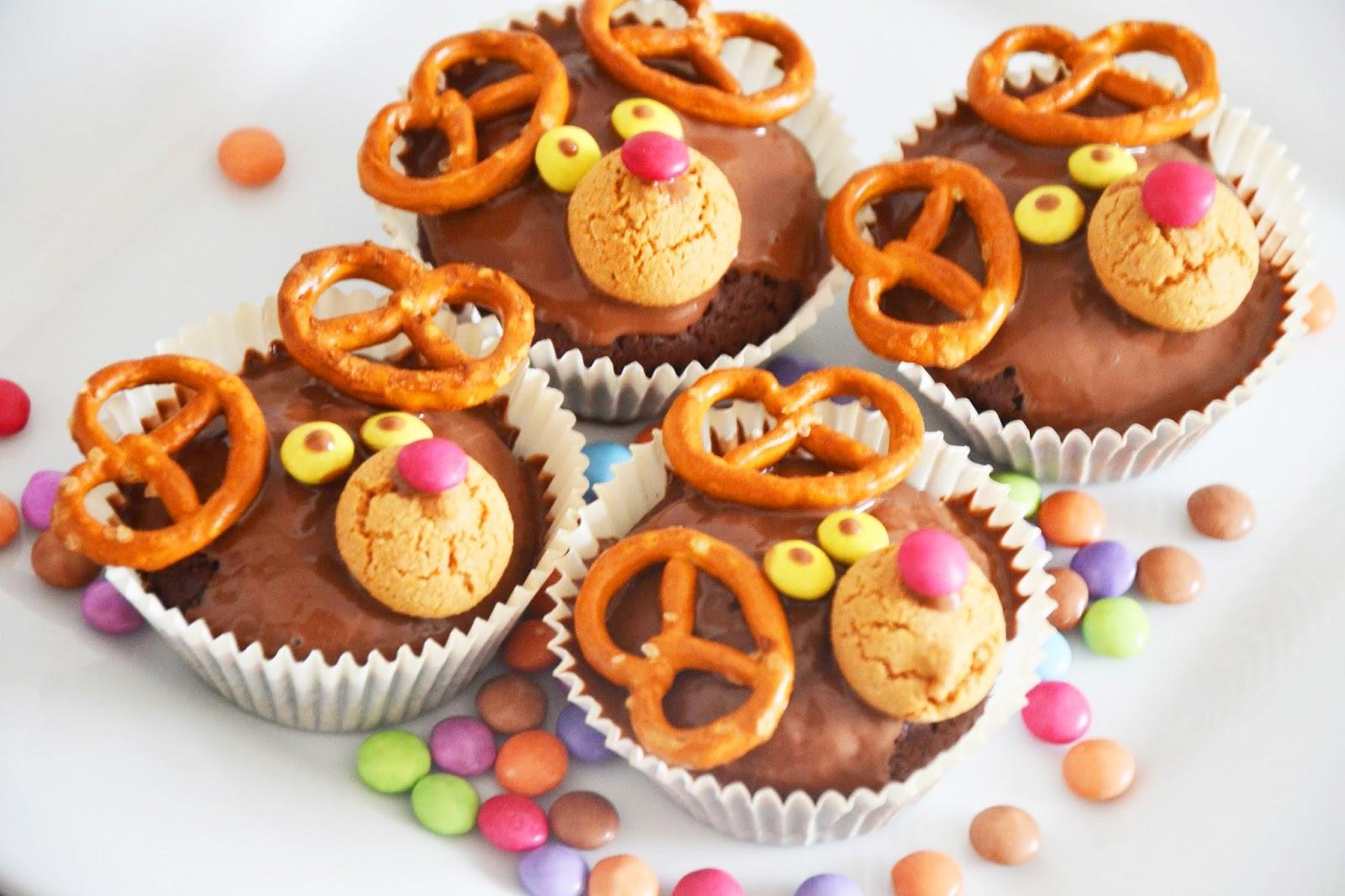 Recettes de Noël - Muffins Rudolf – une recette gourmande à faire avec vos enfants