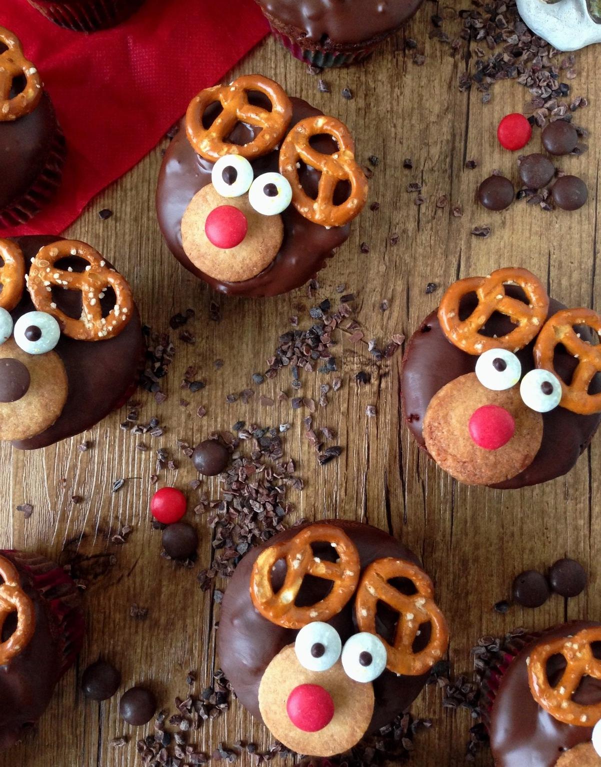 Muffins Rudolf – une recette préférée à faire avec les enfants