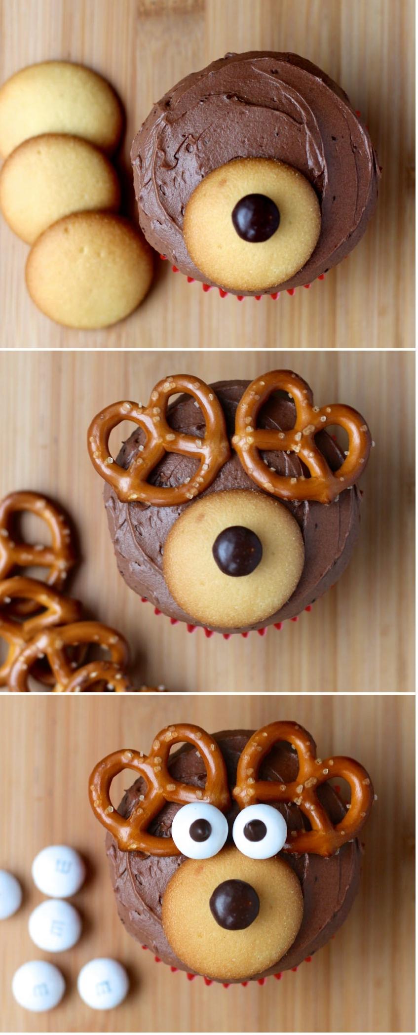 Muffins Rudolf – une recette que vos enfant vont adorer