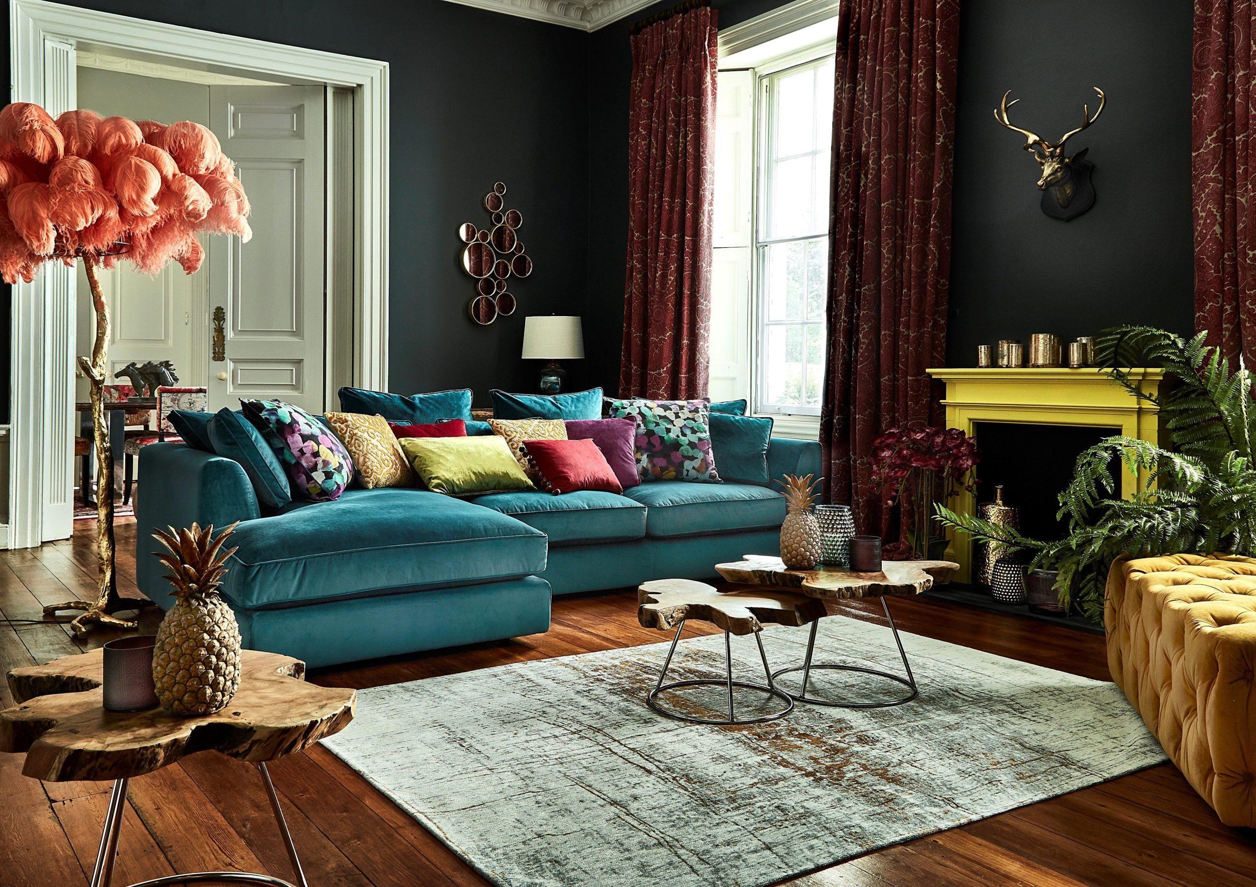 Ajoutez de la chaleur à la pièce avec un tapis.