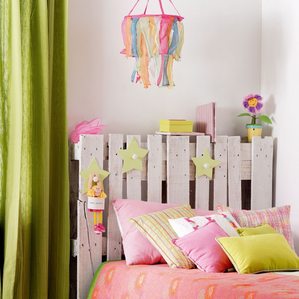 Ce projet est également convenable à une chambre d'enfant.