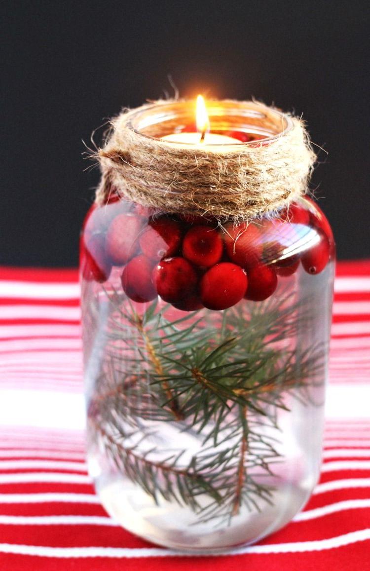 Alternative aux bocaux de Noël DIY