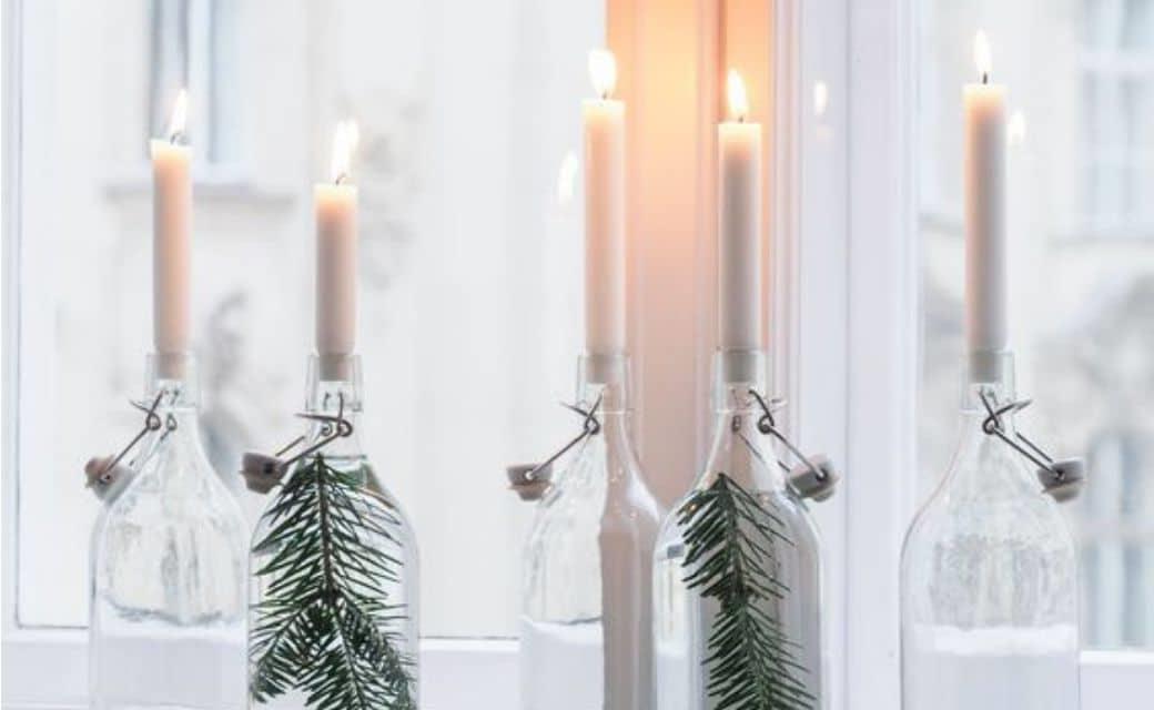 bocaux de Noël à fabriquer à petit prix - idées simples à rèaliser